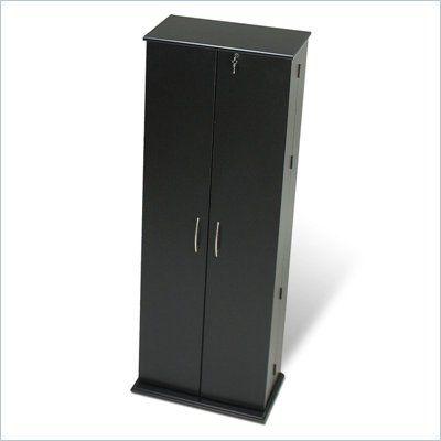 Fabulous Prepac Grande Locking Cd Dvd Media Storage Cabinet In Black Download Free Architecture Designs Scobabritishbridgeorg