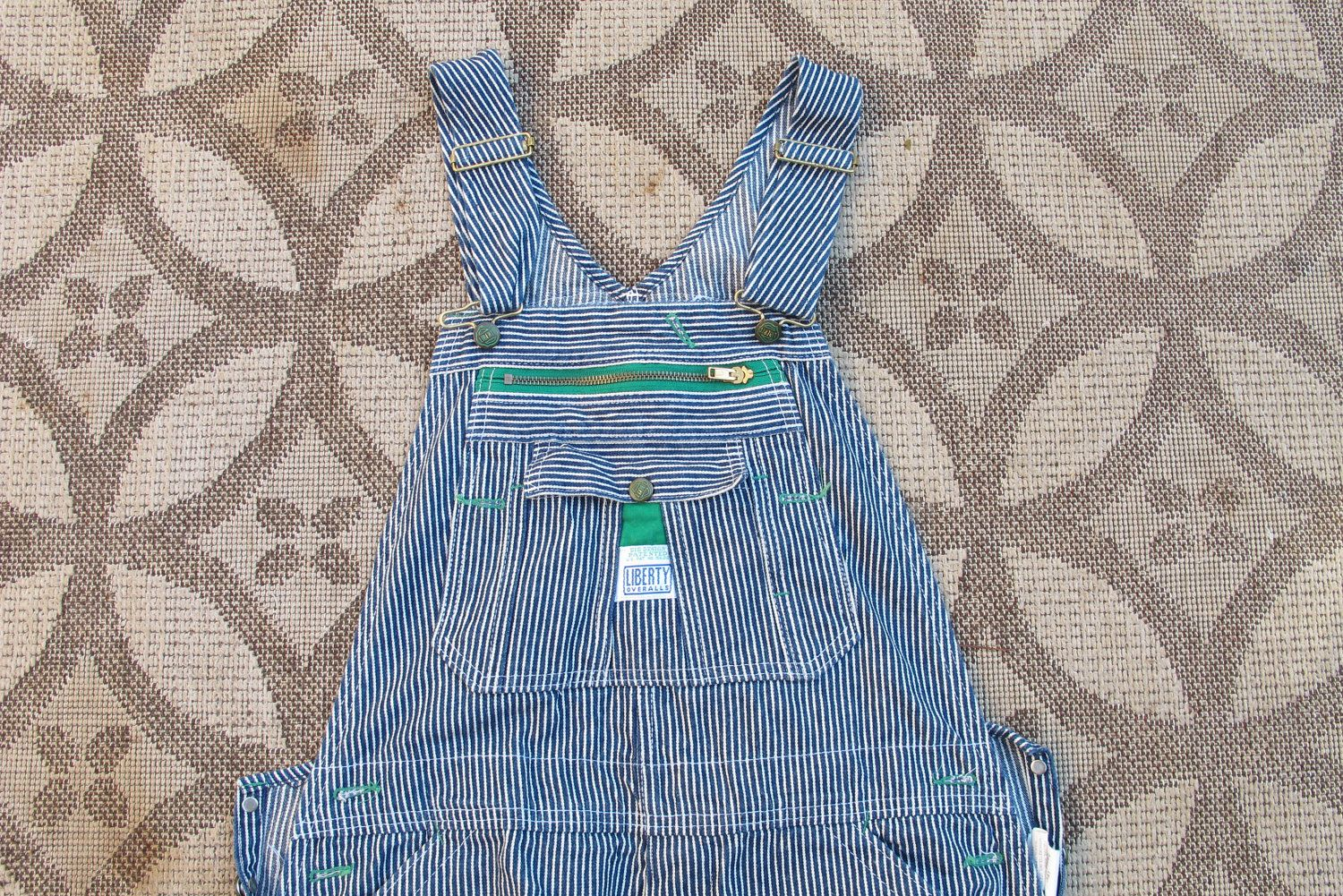 c41add3468b1 LIBERTY Brand Hickory Stripe Overalls - Made in USA - w36 x i30 - excellent  condition.  20.34