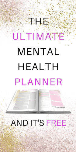 Mental Health Resources My Planner Self Care Pinterest Mental