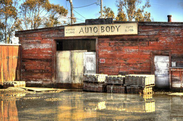 Auto Body - Sausalito, California