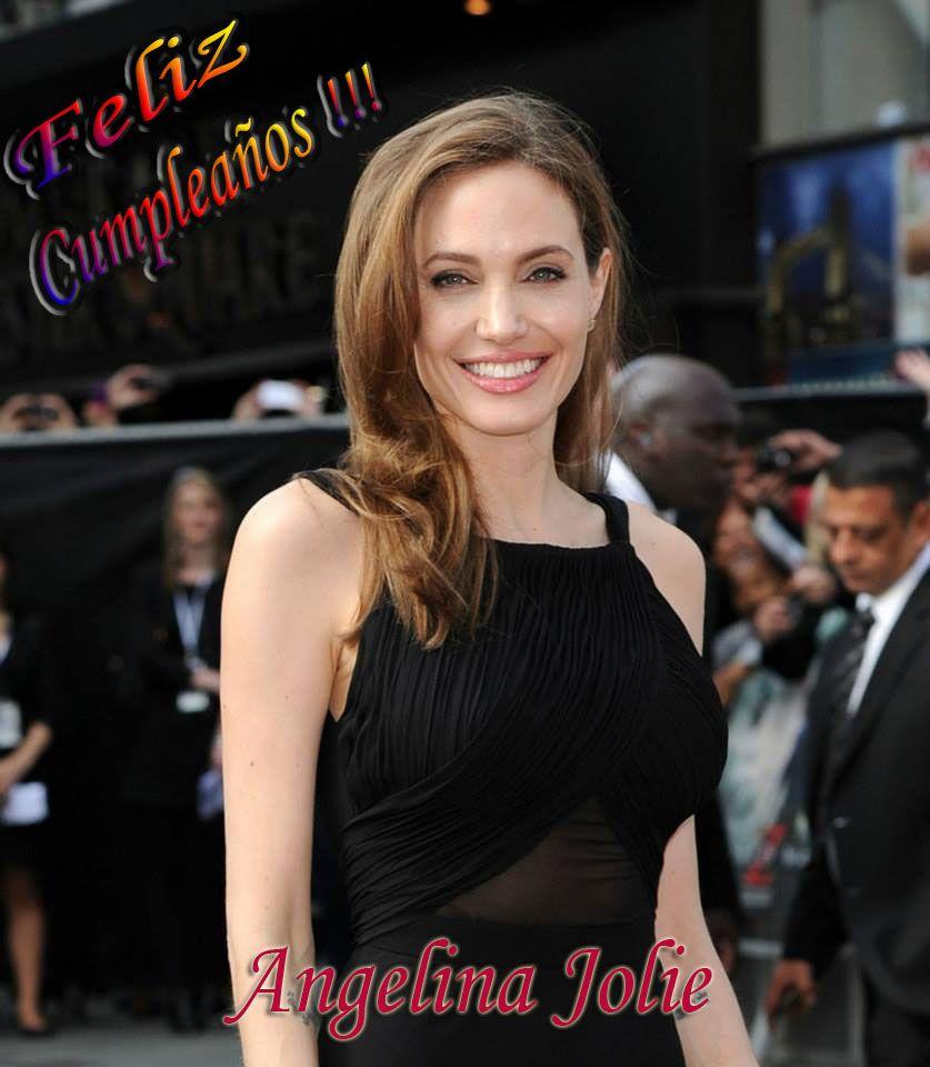 Feliz Cumpleaños para la actriz mas sexy y bonita Angelina Jolie, ella me encanta siempre.  #HappyBirthdayAngelinaJolie