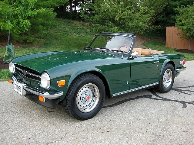 1976 triumph tr6 - my dad used to own one and would be pumped to