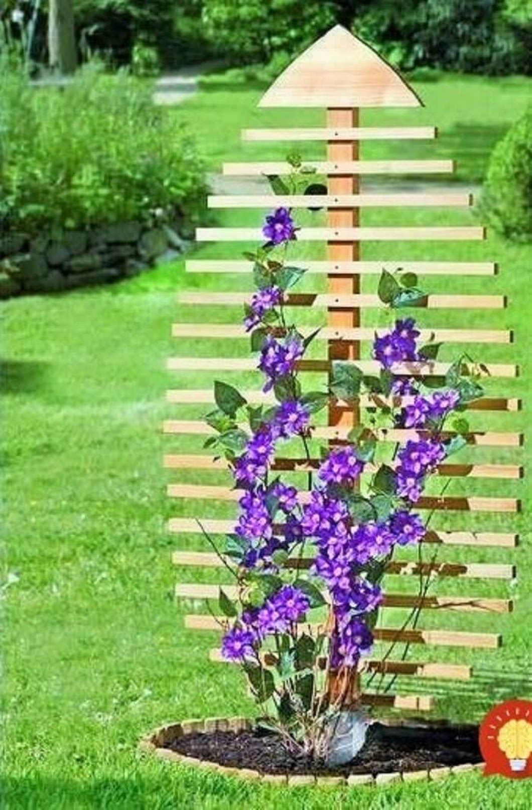 French tuteur trellis woodworking projects amp plans - 15 Fascinating Decoration Ideas For Your Home Garden