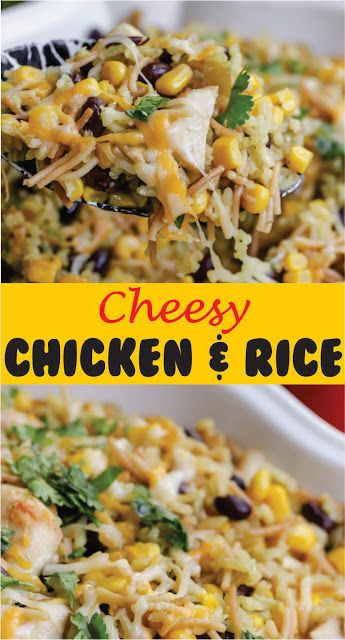 CHEESY CHICKEN AND RICE images