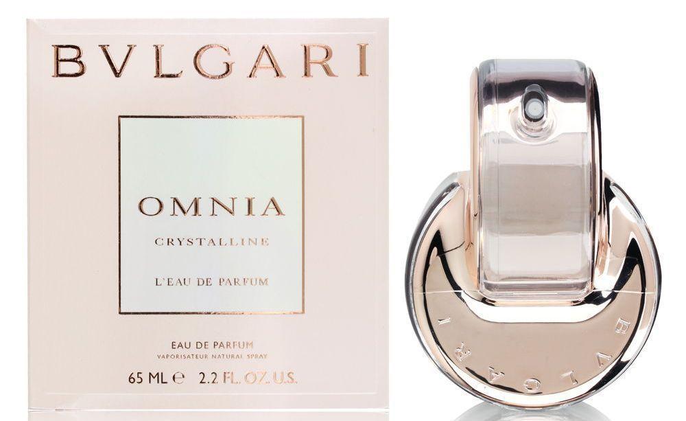 Omnia Crystalline By Bvlgari Perfume For Women 2 2 Oz Edp In Box Perfume Omnia Crystalline Bvlgari Omnia Crystalline