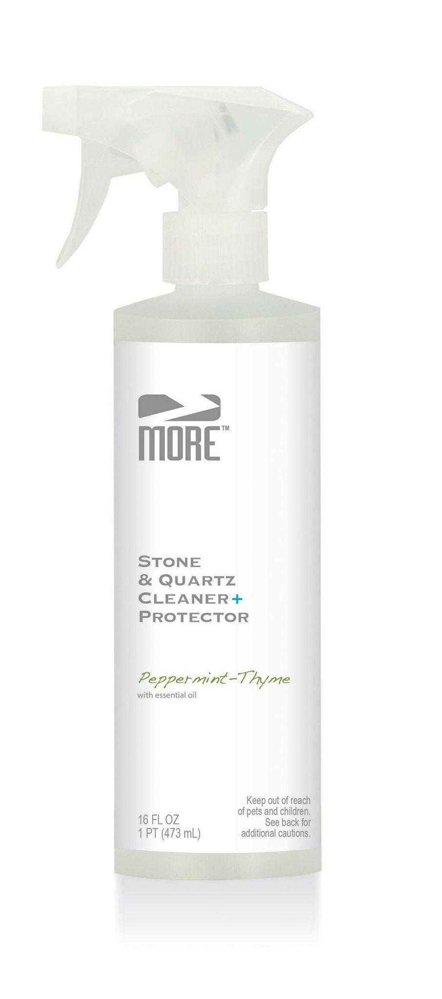 MORE™ Stone & Quartz Cleaner + Protector Quartz cleaner