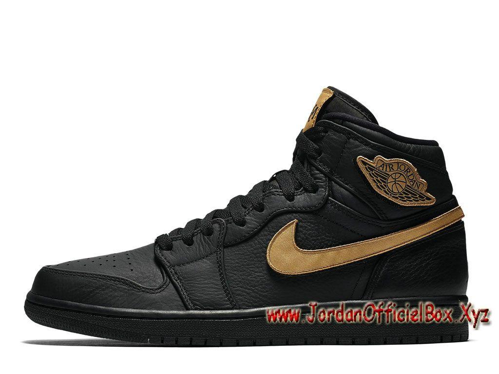 00750edfc3d4 Air Jordan 1 Retro High BHM 2017 908656-001 Chaussures Nike Jordan 2017 Pour  Homme Noires-Jordan Officiel Site,Boutique Air Jordan 2017!Accept Paypal!
