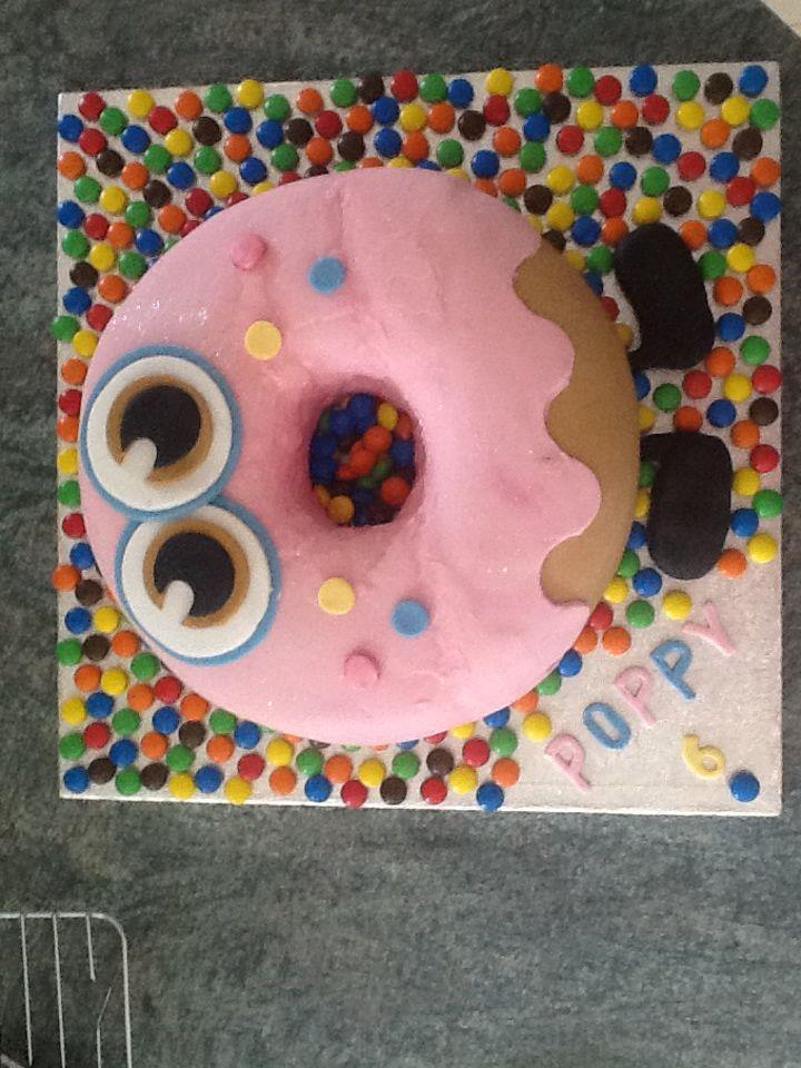 Oddie moshi birthday cake