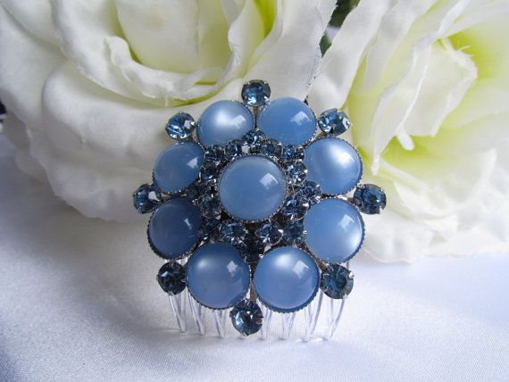 Bridal Hair Accessories Jewelry Vintage by BRIDALDESIGNSBYDONNA, $59.00