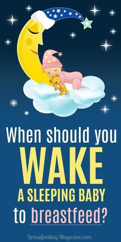 Wake A Baby To Breastfeed Tips By Age Of The Sleeping -8245