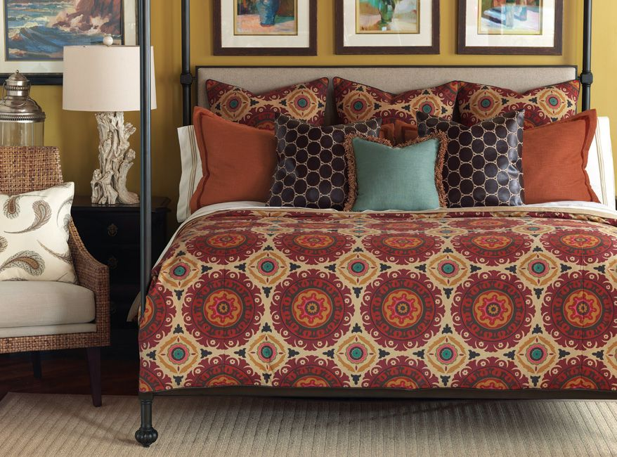 Cot In A Box Morocco Turquoise: Barclay Butera Luxury Bedding By Eastern Accents!!! Love