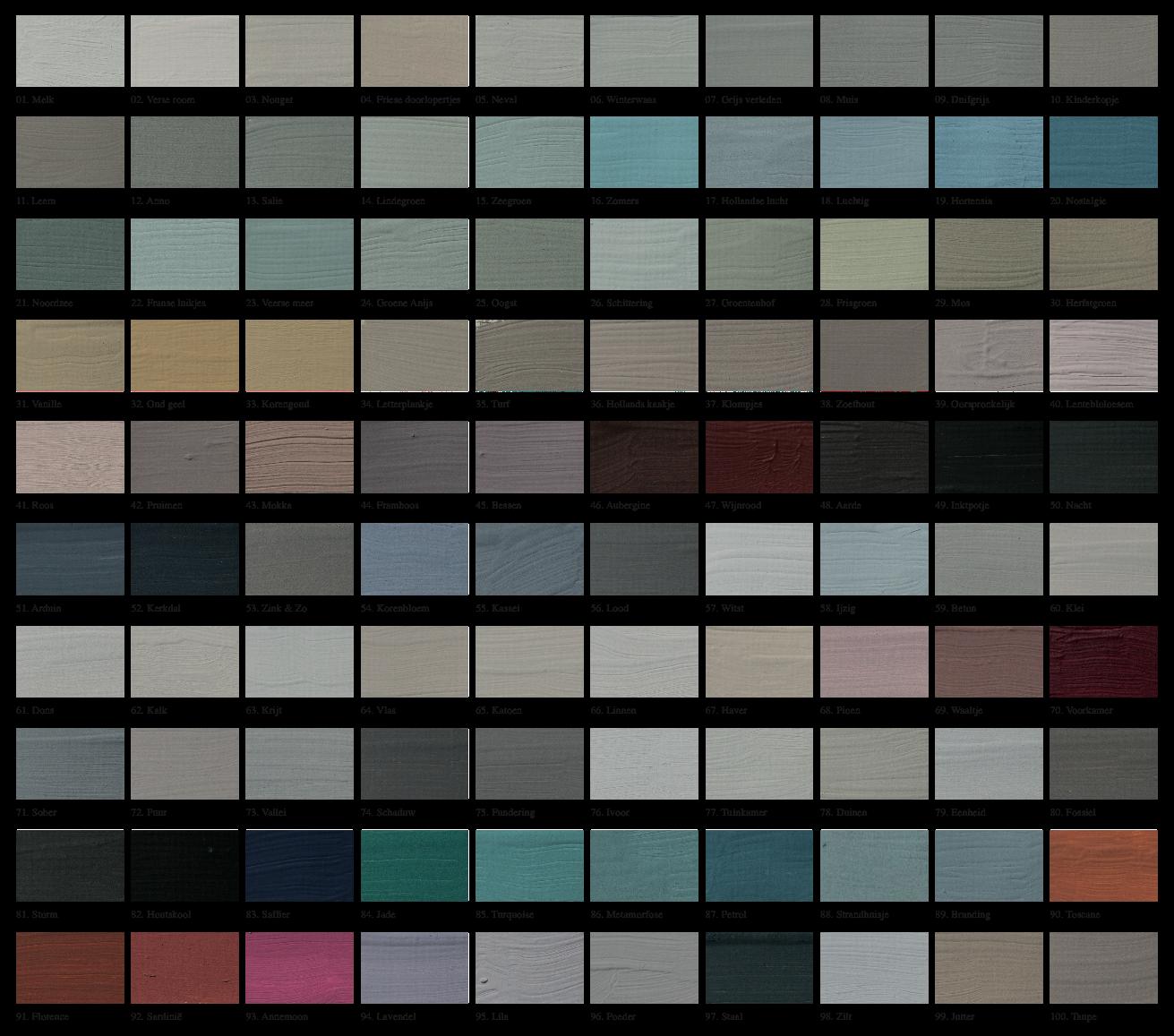 L 39 authentique kleurenkaart vergroot de winter pinterest verf verfkleuren en kleuren - Grijze taupe kleurenkaart ...