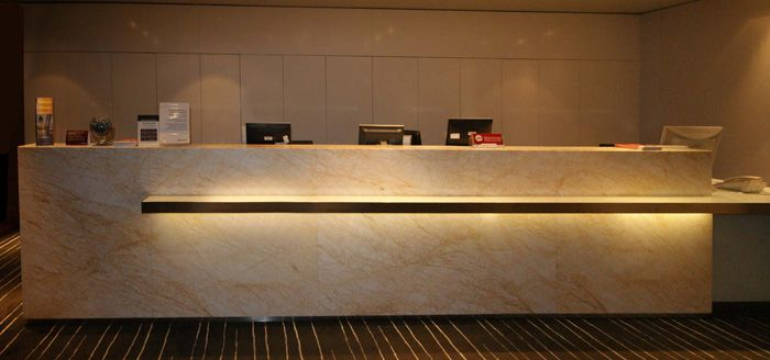 find this pin and more on concierge desk design - Concierge Desk Design