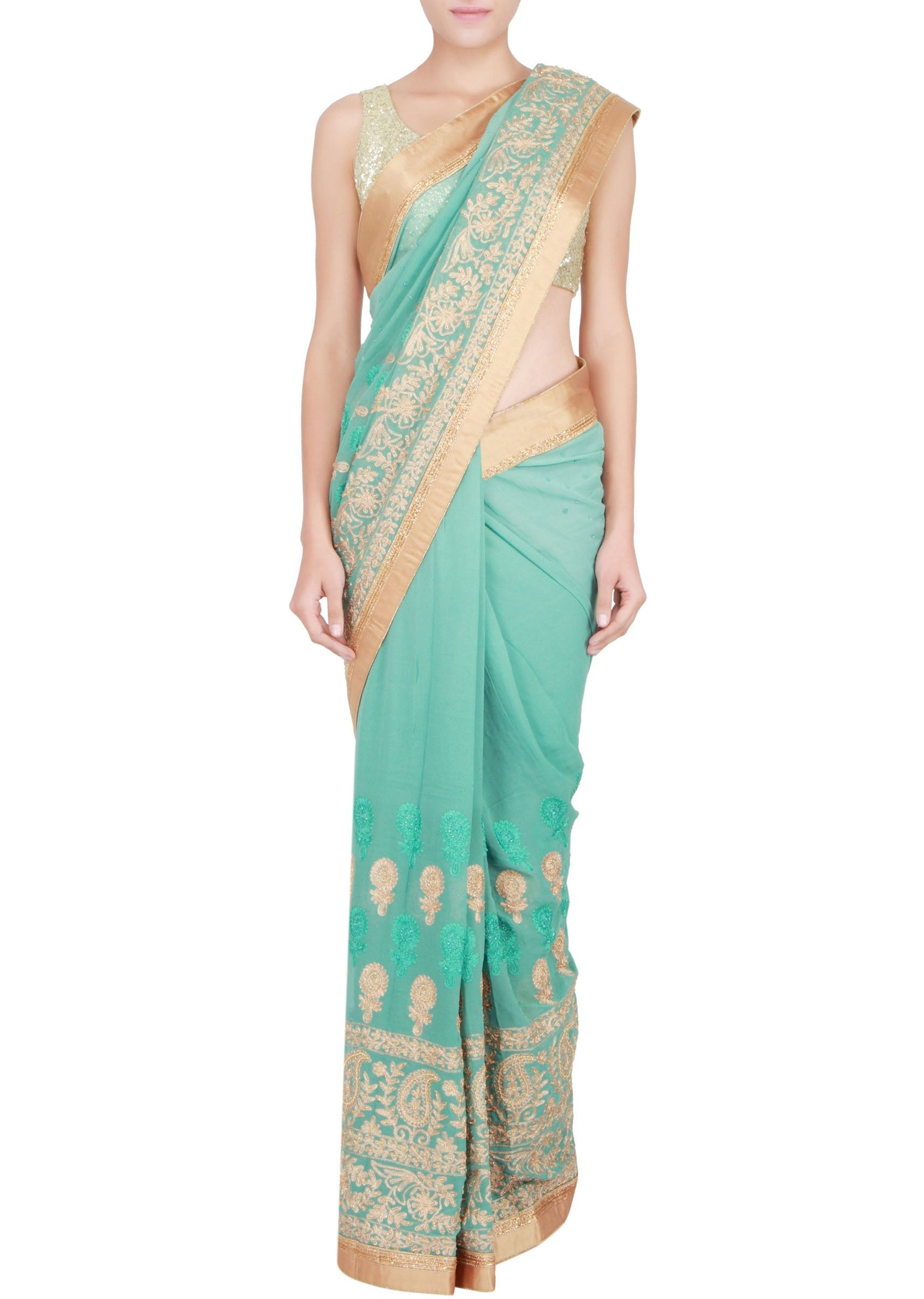 Pin by ng nam on sari | Pinterest | Party wear dresses, Indian ...