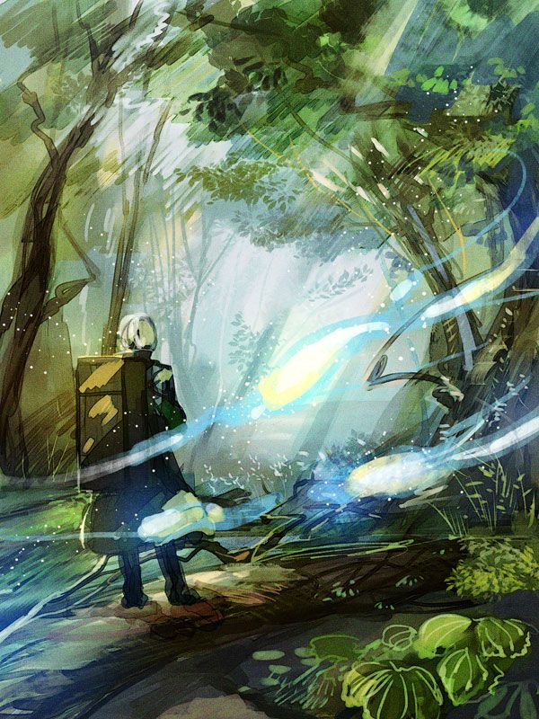 Mushishi Anime scenery, Anime wallpaper, Anime art
