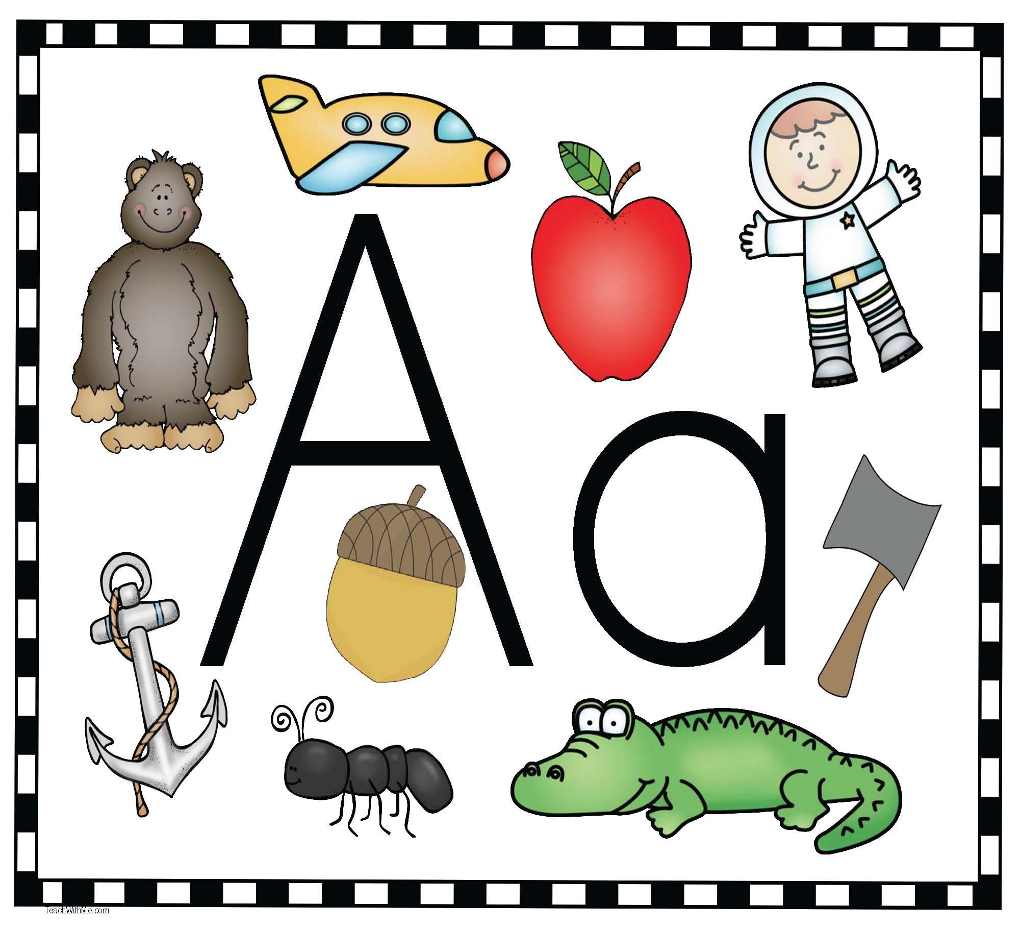 Alphabet Activities Alphabet activities, Alphabet poster