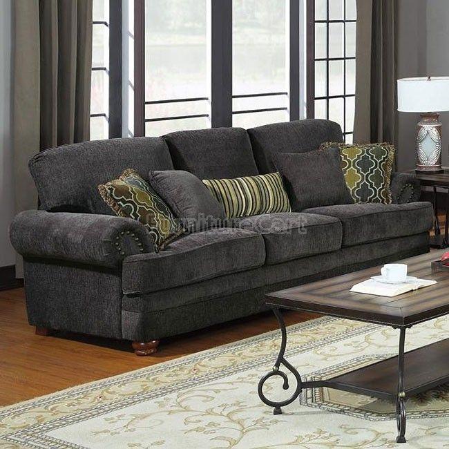 Upholstered Sofa, Coaster Furniture