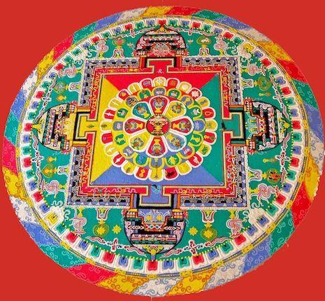 Un mandala de sable du Bouddha de Médecine sera consacré par le Très Vénérable Mogchok Rinpoché