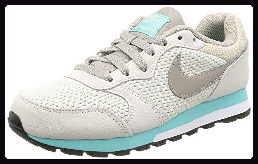 Nike Damen Md Runner 2 Sneaker Grau Light Orewood Brown Cobblestone Aurora Green 37 5 Eu Sneakers Fur Frauen Partn Nike Md Runner Nike Md Runner 2 Nike