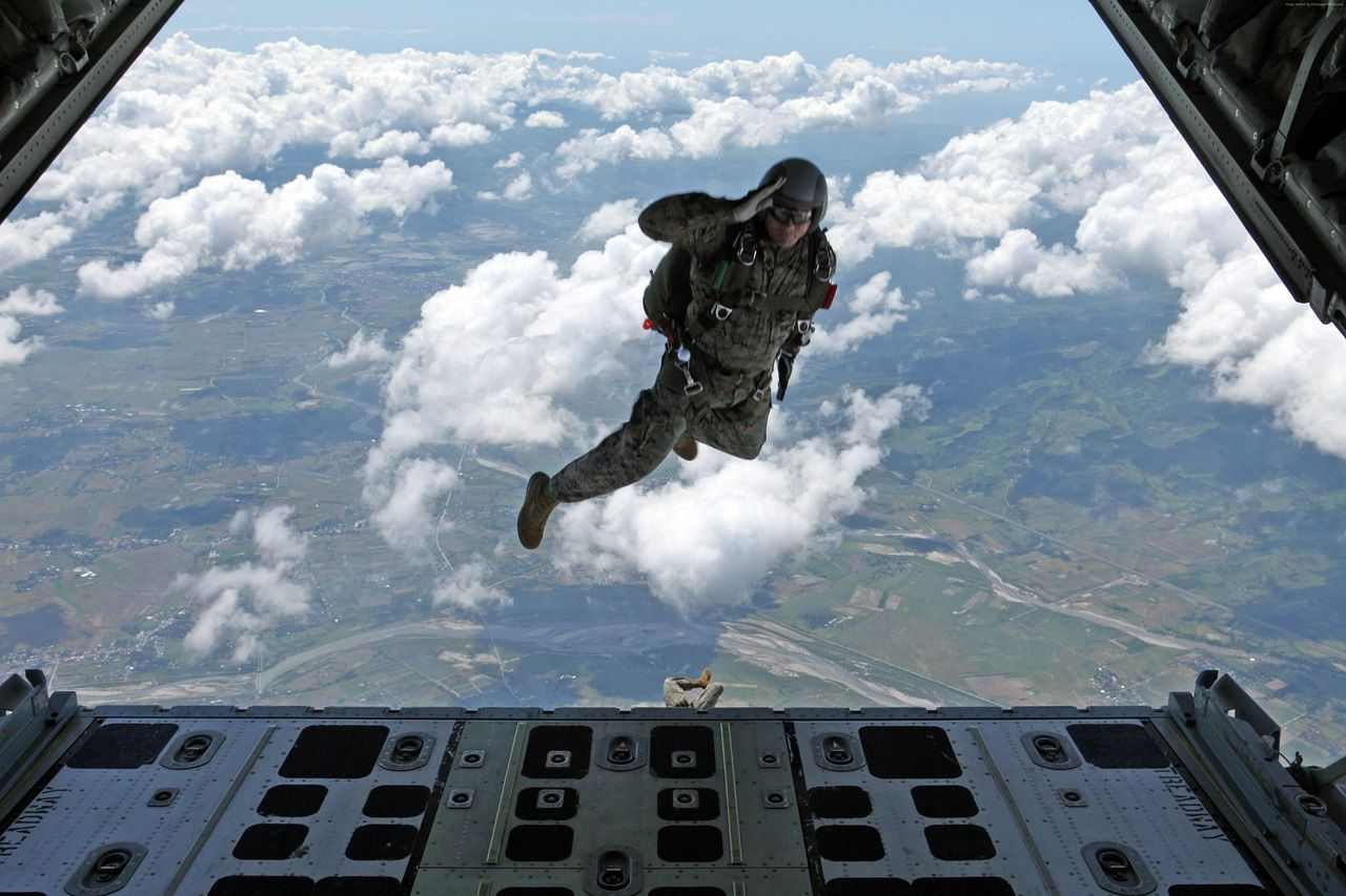 U.S. Army Special Forces • Presents How To Jump Out Of An Airplane