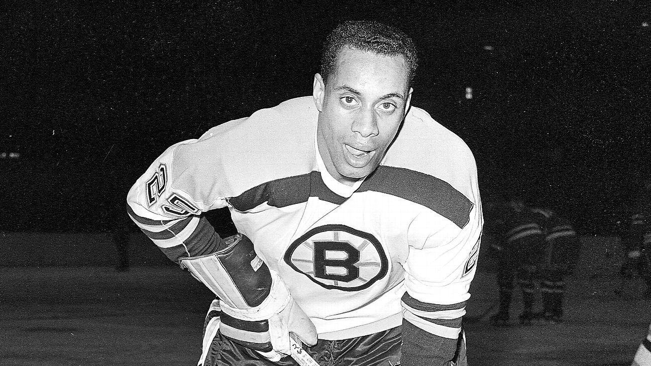 Boston honors hockey pioneer Willie O'Ree | Nhl, National ...