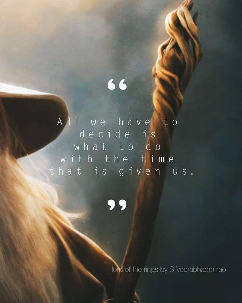 Gandalf's quotes | Il signore degli anelli, Signore degli anelli ...