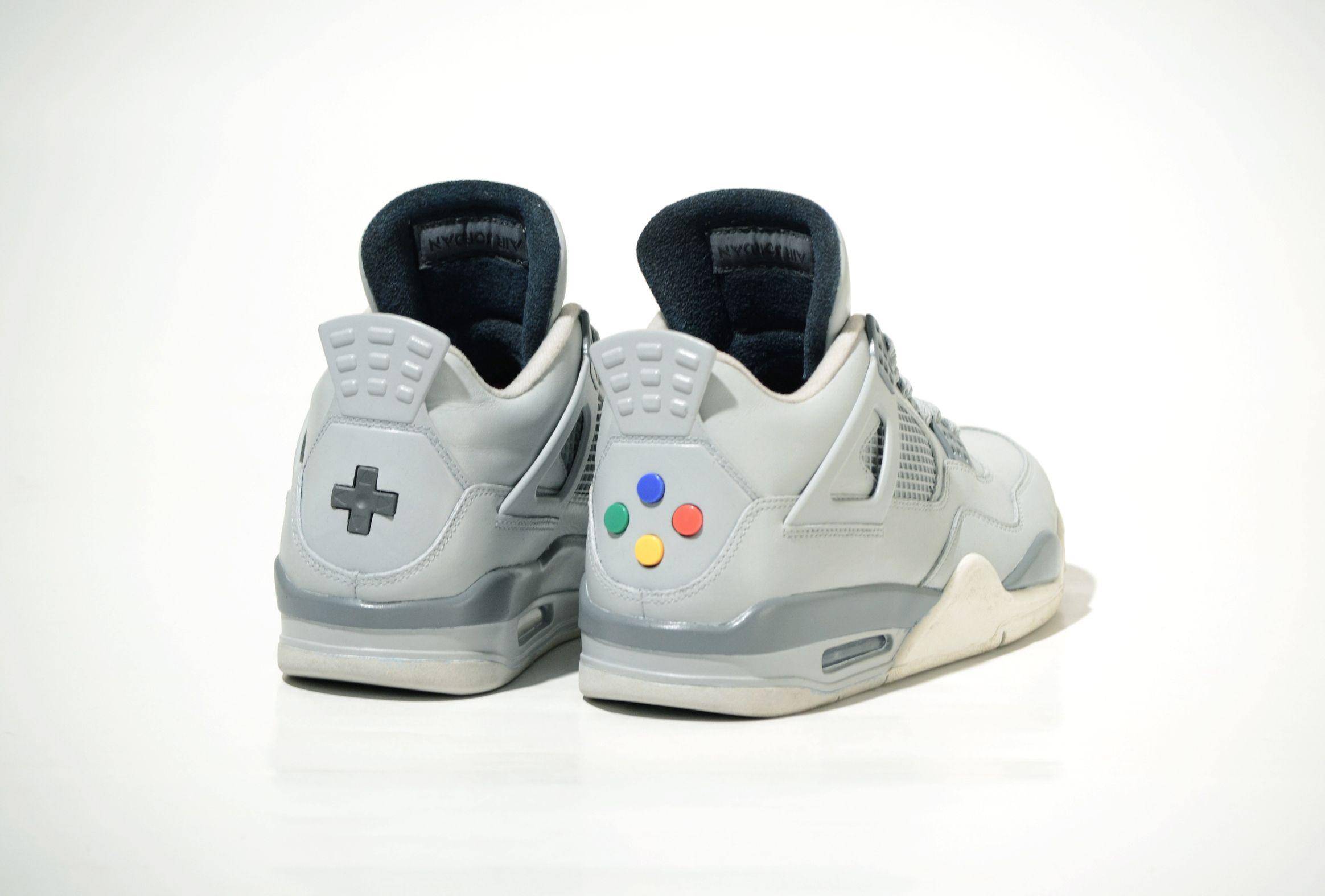 Sneaker Freaks – Air Jordan IV -Super Nintendo