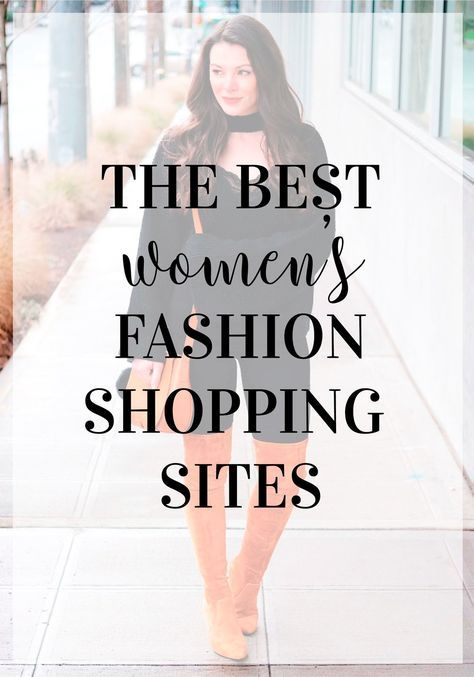 The best places to shop online for women's fashion. Cute winter ...