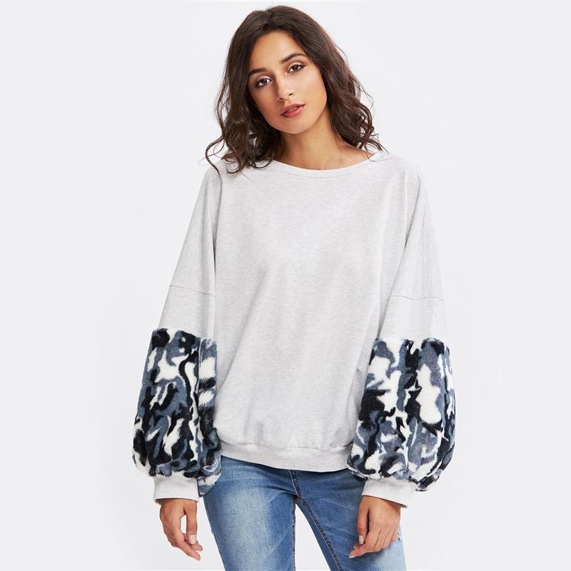 138a9fb47 Gender: Women Item Type: Hoodies,Sweatshirts Pattern Type: Patchwork Sleeve  Length(
