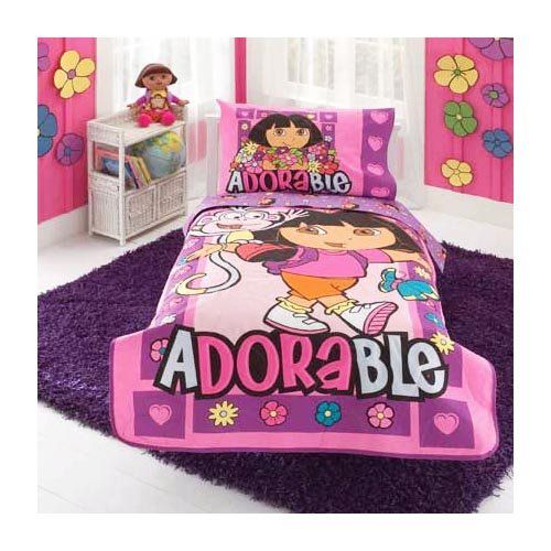 Dora Bedding Set | Dora Toddler Bedding Set |  sc 1 st  Pinterest & dora bedroom decorations | ... Dora Bedding Set | Dora Toddler ...