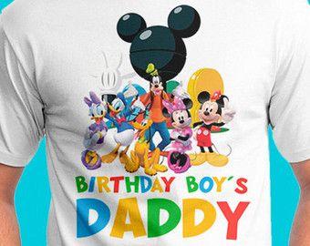 c02a116f1 Custom Birthday Shirt Mickey Mouse Clubhouse Custom Mom Parent Mommy ...