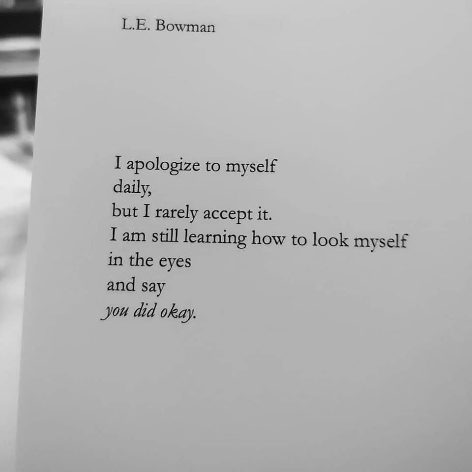 ollow @l.e.bowman.poetry - - An amazing heartfelt book of poetry