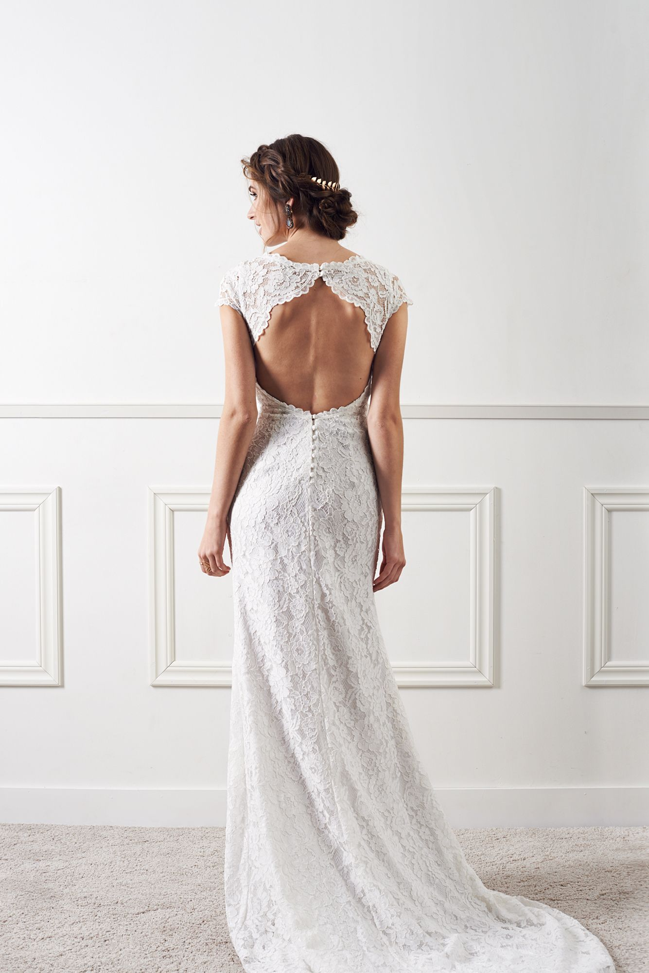 Elise Rose lace wedding gown from By Malina 2016 Wedding Collection