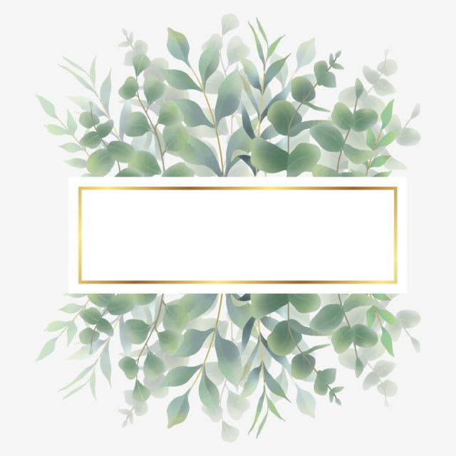 Watercolor Green Leaf Frame For Invitations Frame Rame Leaf Png And Vector With Transparent Background For Free Download In 2020 Watercolor Leaves Green Leaf Background Flower Frame
