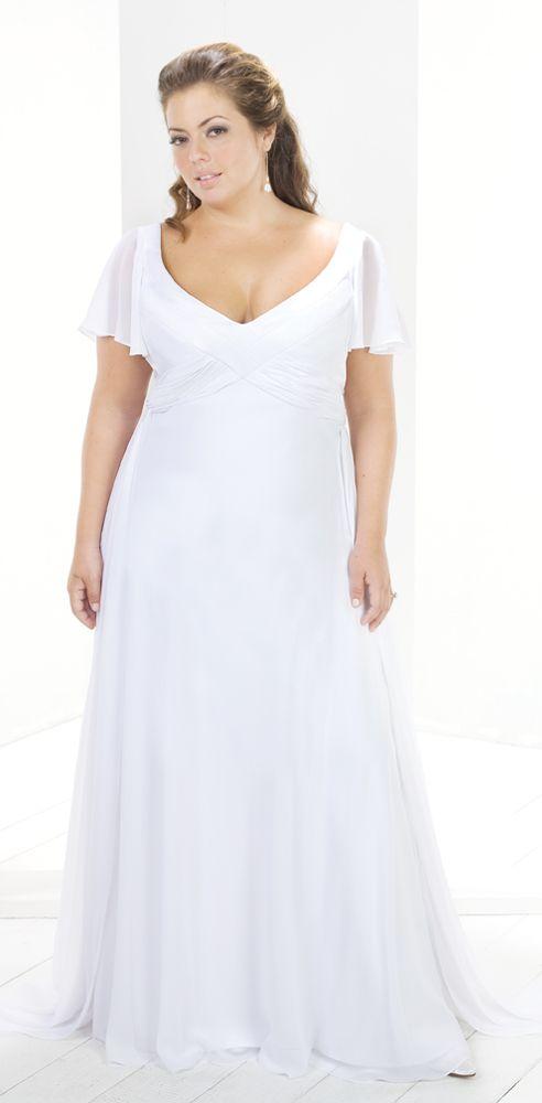 Designer Short Sleeve Bridal Dre Wedding Dress $179 | Wedding Stuff ...