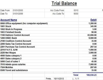 Check out new work on my Behance portfolio Trail Balance Sheet