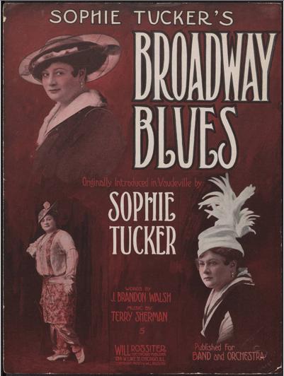 Killer old blues sheet music cover art!