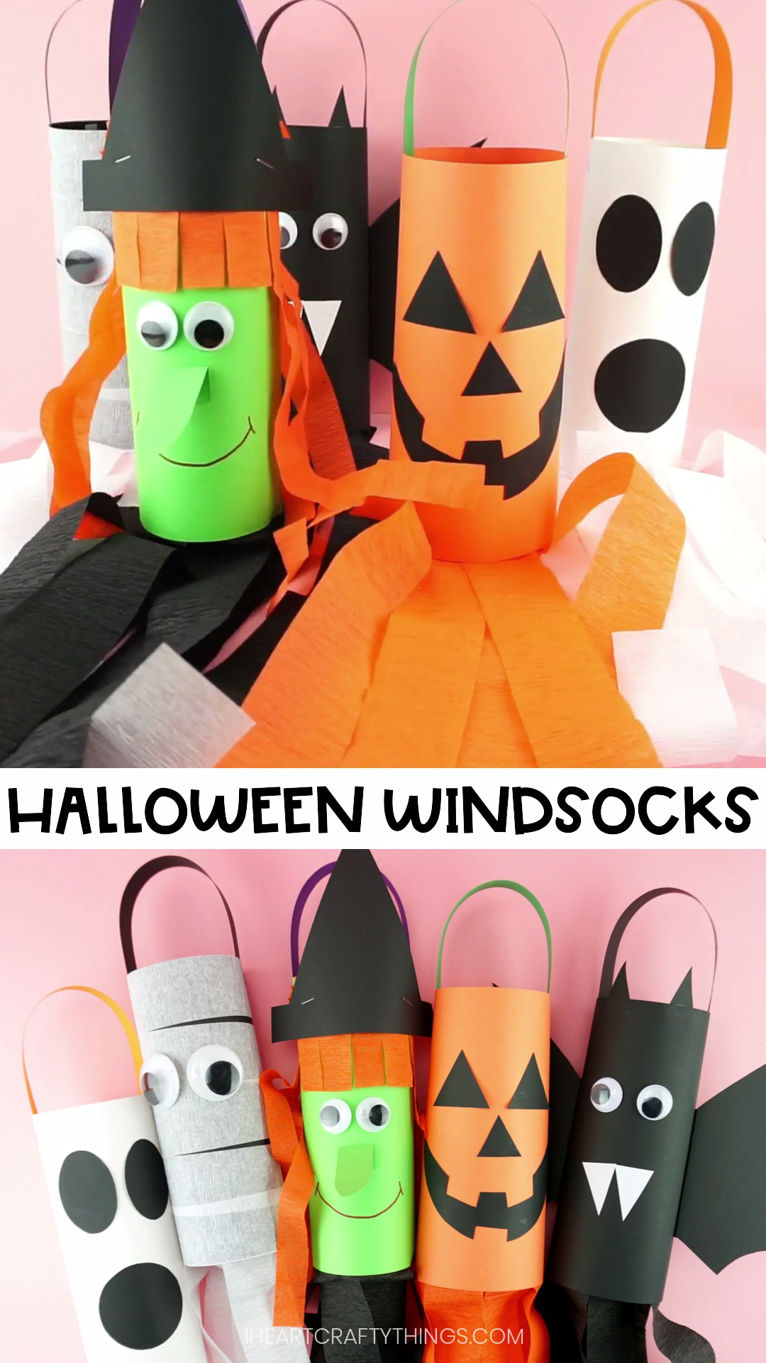 How to Make Halloween Windsocks