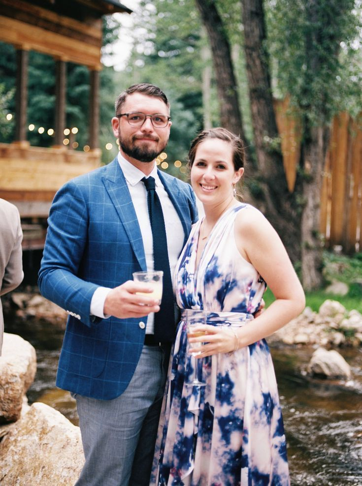 One Couple's Personalized Summer Wedding in Colorado - Wedding Guest Hairstyles ... #weddingguesthairstyles One Couple's Personalized Summer Wedding in Colorado - Wedding Guest Hairstyles ... #weddingguesthairstyles