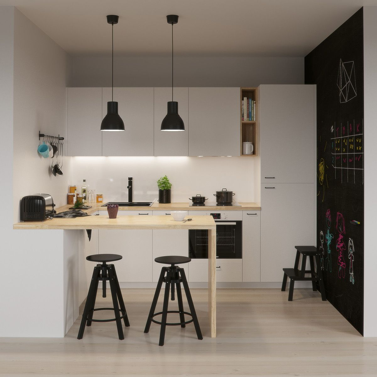 Ikea Kitchen on Behance Renovasi, Desain rumah, Rumah indah