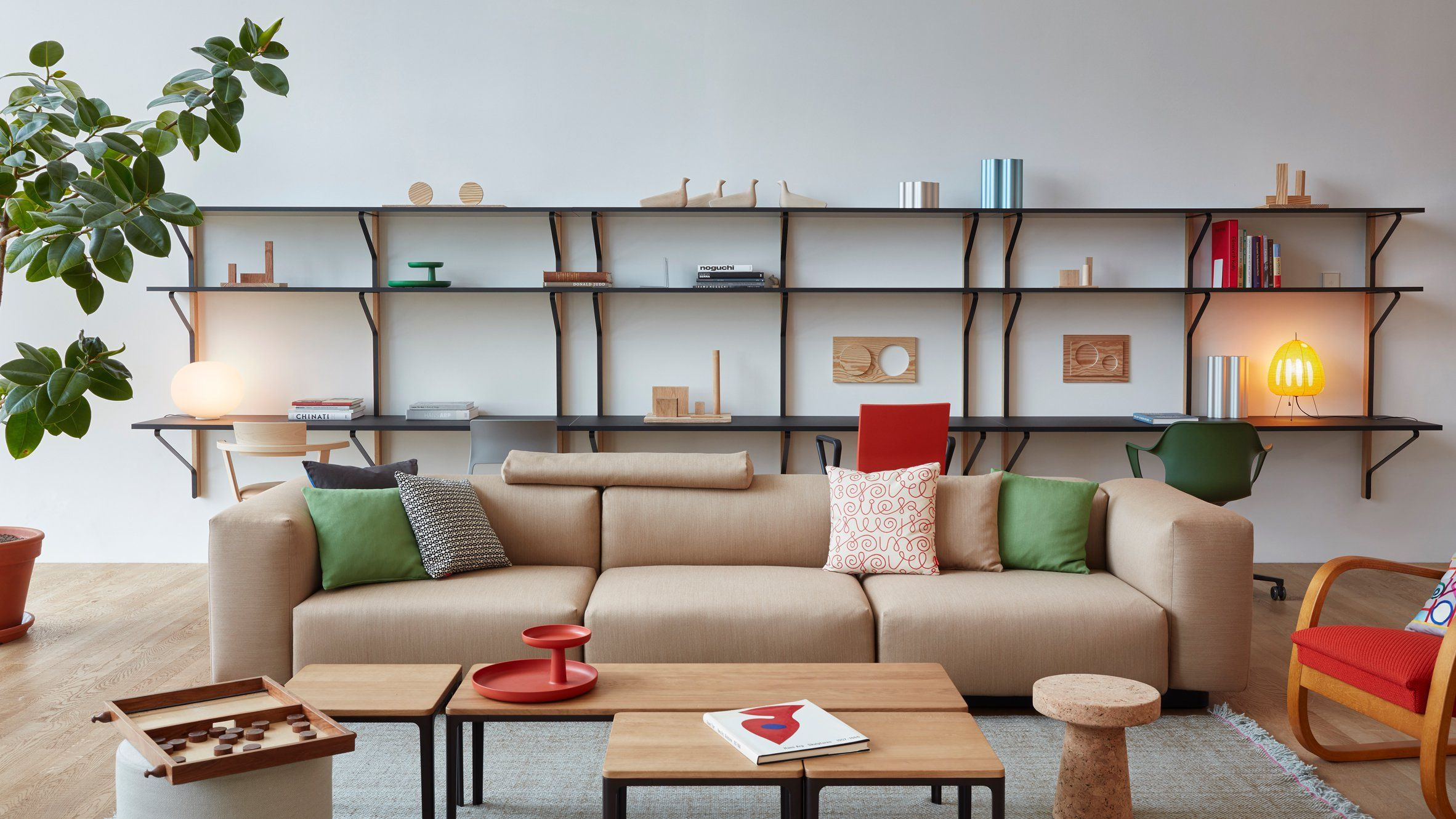 Jasper Morrison Furnishes VitraHaus For A Fictitious Abstract Artist. House  FurnitureOffice ...
