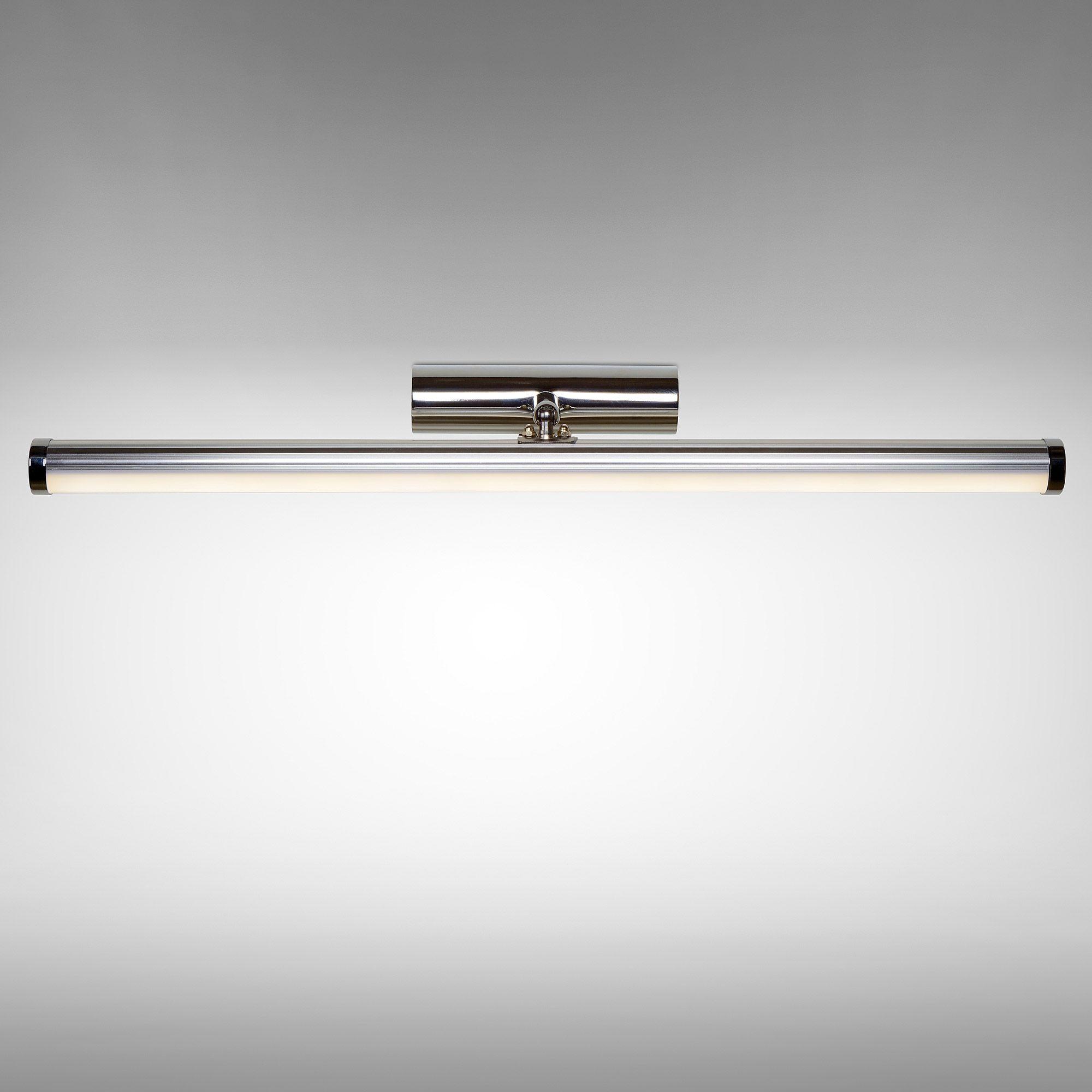 Applique de salle de bain LED en métal chromé Belpa Lucide port ...