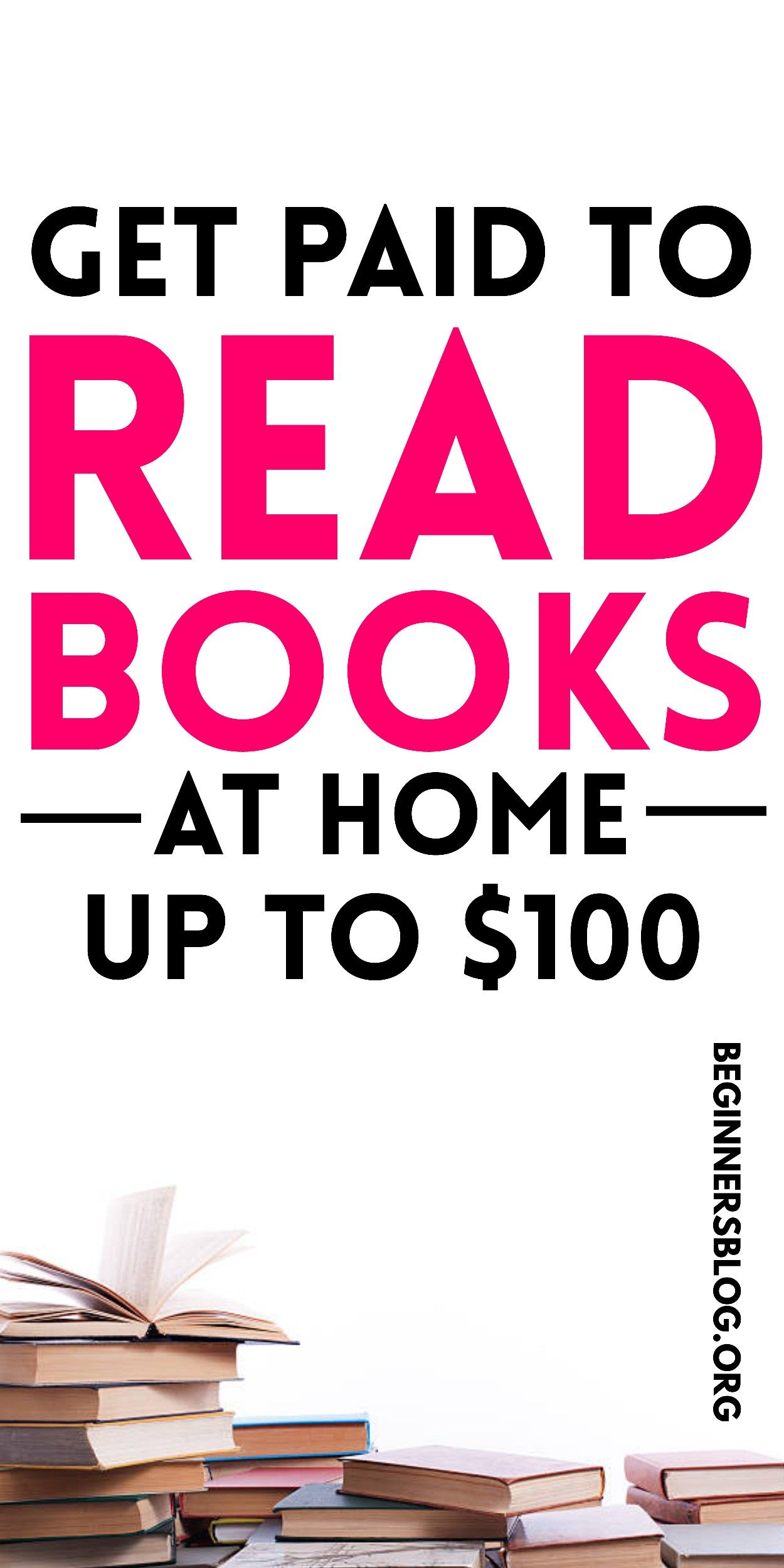 Get Paid To Read Books At Home