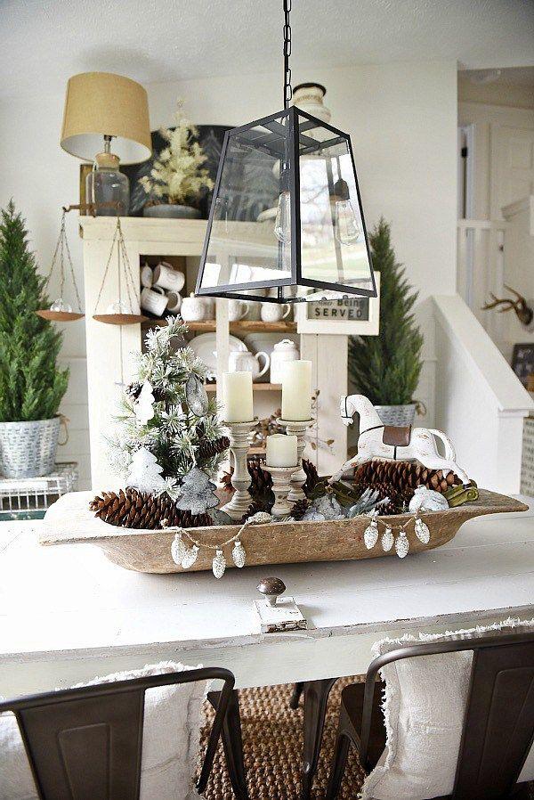 Christmas Dough Bowl Centerpiece Best Of Pinterest Homemade