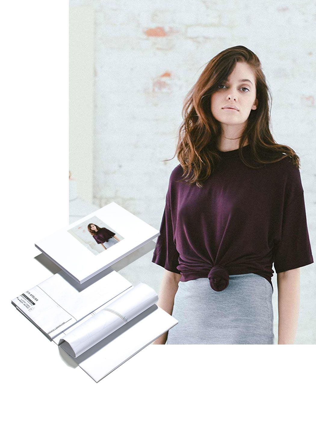 oversize tshirt  schnittmappe mit bildern  t shirt