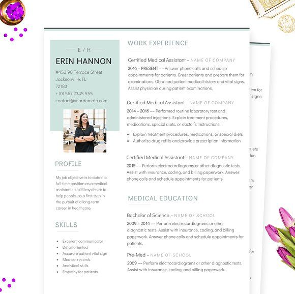 Ms Word Resume Minimalist Ms Word Resume Template  Template And Mockup