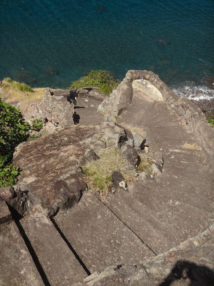 Ladder Bay On Saba, Dutch Caribbean. Photo Credit: Maureen