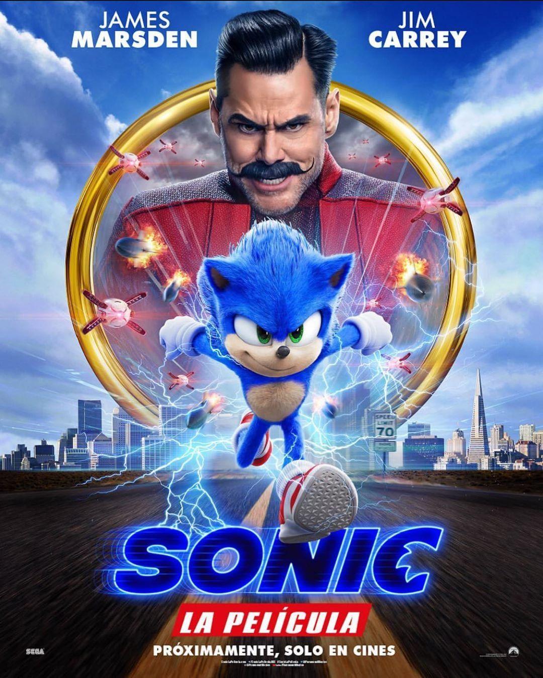 Sonic La Pelicula Nuevo Trailer Redisenado Pelicula De Sonic Peliculas Infantiles De Disney Peliculas En Linea Gratis