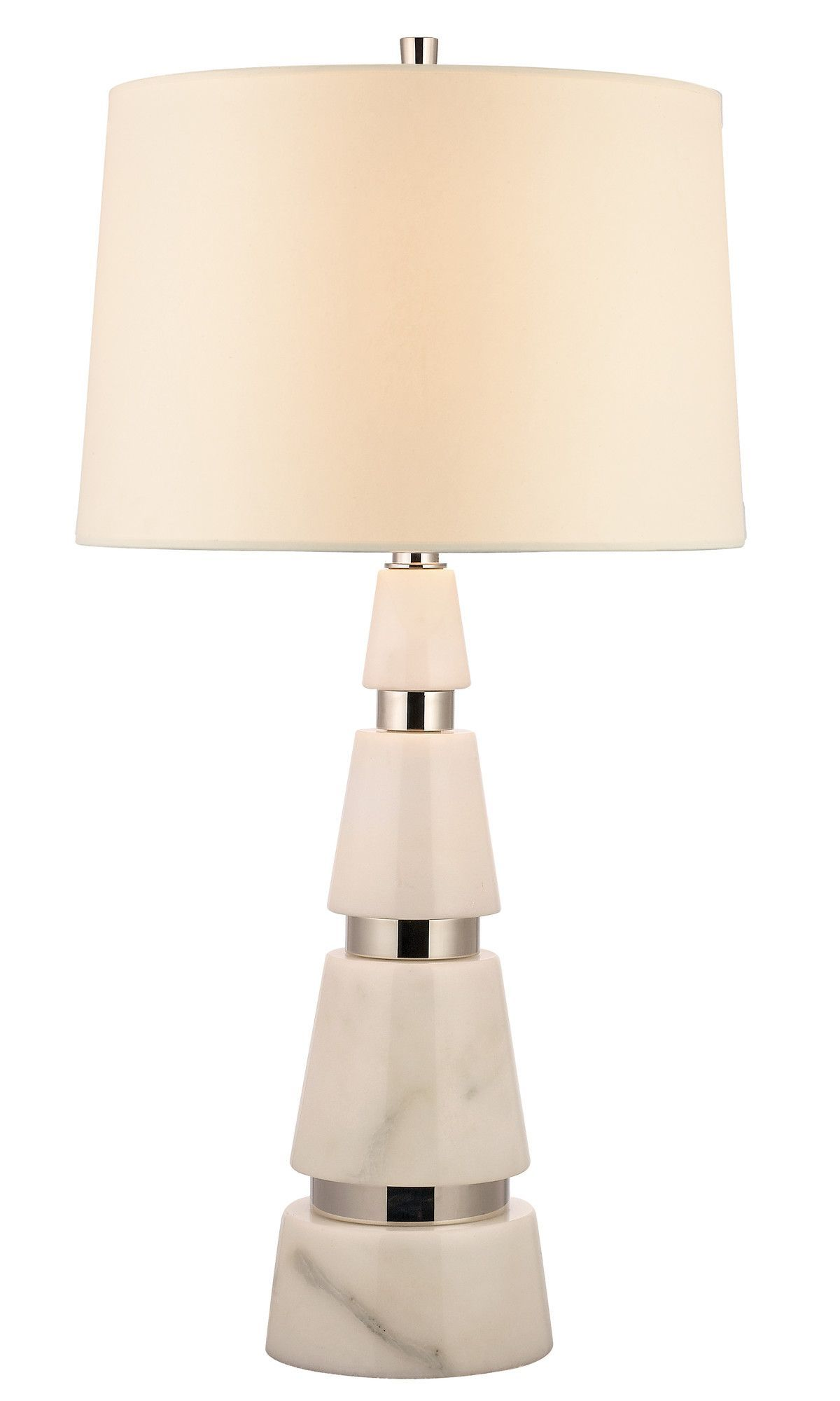 "Modena 1 Light 32.25"" H Table Lamp with Empire Shade"