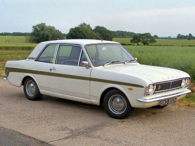 1968, Ford Cortina Lotus MkII Classic cars, Classic